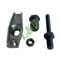 Honda GX120 GX160 GX200 GX340 GX270 GX340 GX390 Rocker Arm Assembly Include Rocker Arm, Pivot, Jam Nut & Rocker Stud