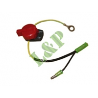 Honda GX110 GX120 GX140 GX160 GX200 GX240 GX270 GX340 GX390 Switch Assy.,Engine Stop(With Zero Line 36100-ZH7-003