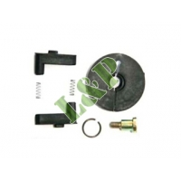 Honda GX100 Recoil Starter Repair Kit(With Plastic Ratchet) Black