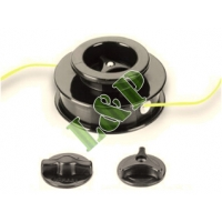 Universal Trimmer Head Manual, Double Line Nylon Head Ø109MM Complete With Adaptor Bolt Ø2.4MM Nylon Line